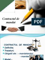 0 Contractul de Mandat