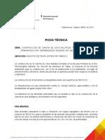 1.-Ficha Tecnica Cancha y Techumbre Hermenegildo Galeana