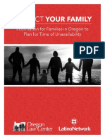 Family Preparedness Plan English