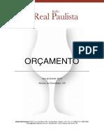 100 2013 Orcamento Buffet Real Paulista