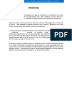 Estudio Integral de La Cuenca Hidrografica Del Rio Huaura