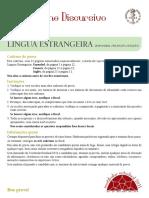 Exame Discursivo UERJ - Língua Estrangeira - 2011.pdf