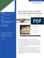 Web Start-Up Bets on RSVP Event-Management Package