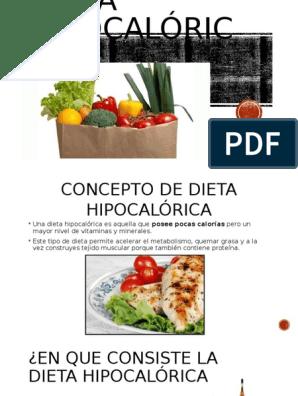 Dieta hipocalorica pdf 1500