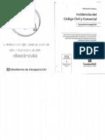 Contratos Incidencias Del Código Civil. Cordobera