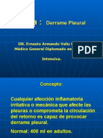 Conferencia Derrame Pleural
