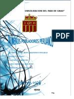 Monografia de Primeros Pobladores Peruanos