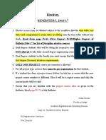 Elective Notice