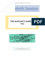 The Musician's Guide to Tax