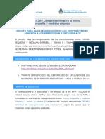 Manual Afip Paso a Paso Solicitud de Categorizacion y Beneficios 1