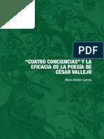 'Cuatro Conciencias' y La Eficacia de La Poesía de César Vallejo (Marco Martos Carrera)