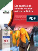 Las Cadenas de Valor de Los Ajíes Nativos de Bolivia