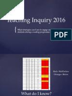 teaching inquiry 2016 power point