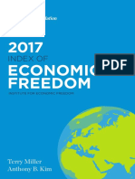 Indice Libertad Economica Ano 2017