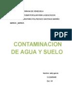 Trabajo Metodologia Contaminacio Del Agua y Suelo