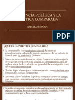 La Ciencia Política y La Política Comparada