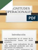 7-8 Magnitudes Operacionales