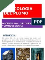 Toxicología Del Plomo