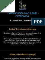 Cinética de La Infusión Intravenosa