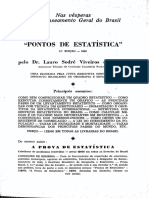 CASTRO, Lauro Viveiro de. Pontos de Estatística.