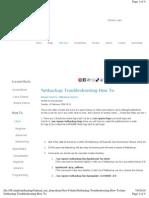 Netbackup Troubleshooting Commands