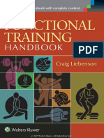 Functional Training - Craig Liebenson