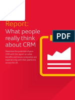 Report What People Really Think About CRM2