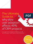 The Ultimate Guide to Why Slow User Adoption Affects 49 of CRM Projects