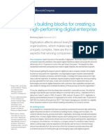 Six Building Blocks for Creating a High-performing Digital Enterprise