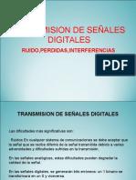 Transmision Senales Digitales Ruido Perdidas Interferencias