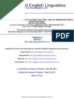 Labov Store Study Journal of English Linguistics-2011-Mather-0075424211431265