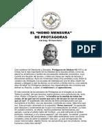 Plancha n.00953 - El Homo Mensura