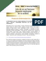 LYME-PROTOCOLO Para Artritis Reumatoide Lupus Fibromialgia Espondilitis Anquilosante Esclerodermia