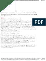 Usage of the Bpbkar_path_tr File to Enable Enhanced Debug Logging of the Bpbkar Process