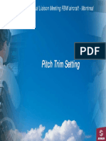 Pitch Trim Setting