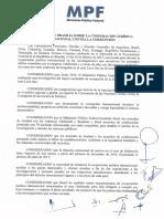 Declaración de Brasilia sobre la Cooperación Jurídica Internacional contra la corrupción