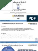 Auditoría Del Control Interno - Diapositivas Clase