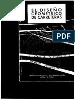 El Diseno Geometrico de Carreteras - Pedro Andueza - Tomo 1