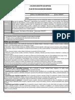 Plan y Programa de Evaluacion Bloque IV FCyE I