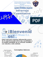 FTIR Espectroscopía infrarroja Transformada a Fourier