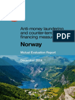 Mutual Evaluation Report Norway 2014