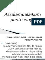 Daya Saing Dan Liberalisasi Perdagangan