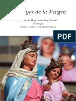 Mensajes de María Del Rosario de San Nicolás - 2016