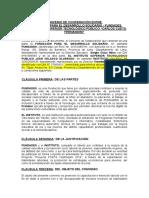 Convenio de Cooperación Entre Istp-Villa María Del Triunfo y Fundades