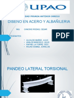 Pandeo Lateral Torsional