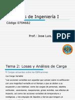 Proyectos de Ingenieria I -Tema 2