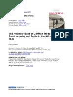 Klaus Weber - The Atlantic Coast of German Trade