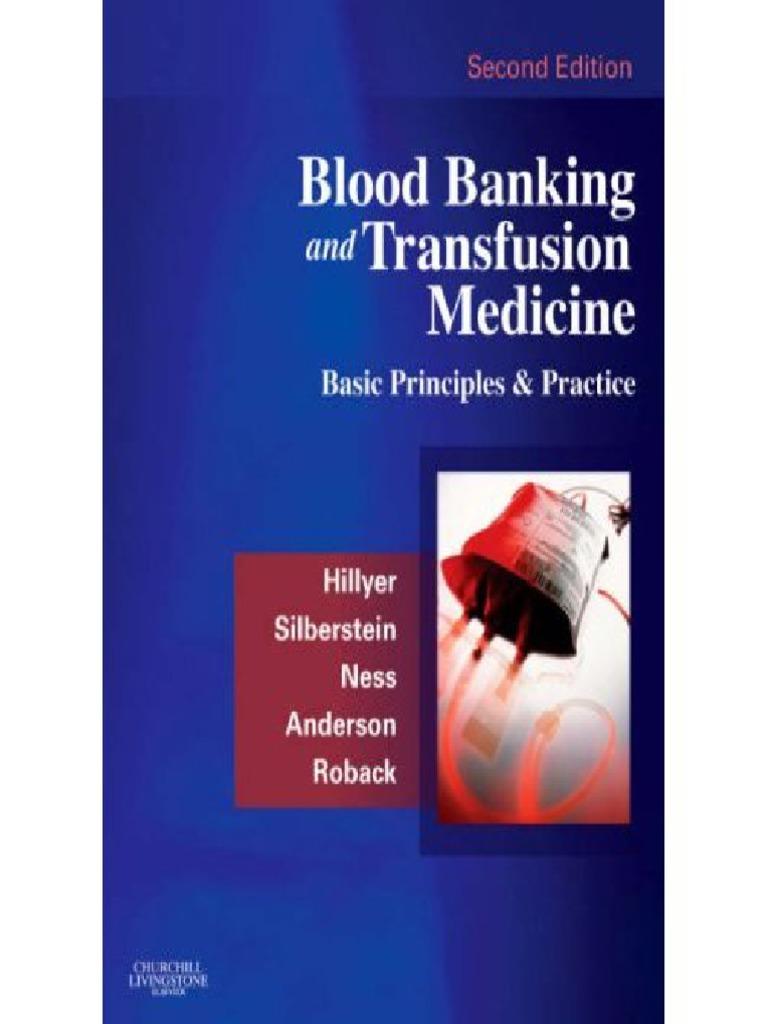 Of Harmening Blood Bank Book