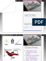 Vectors Supplement