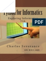 Python for Informatics